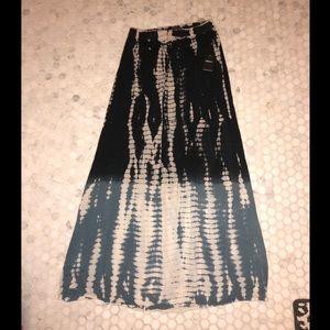 Forever 21 Tie-Dye Maxi Skirt